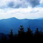 Ridgeline, Blue Ridge Mountains by Glenn Cecero
