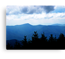 Ridgeline, Blue Ridge Mountains Canvas Print