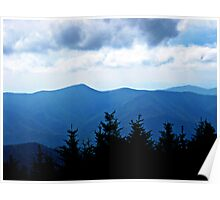Ridgeline, Blue Ridge Mountains Poster