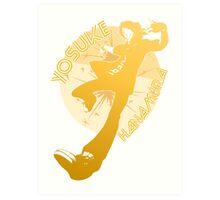 Persona 4 Dancing All Night - Yosuke Hanamura Art Print