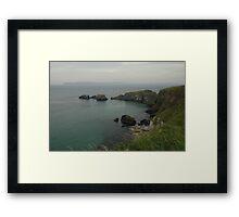 Giant's Causeway Bay Framed Print