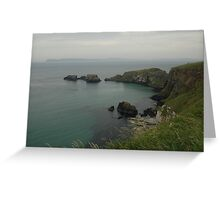 Giant's Causeway Bay Greeting Card