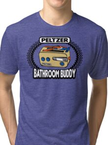 Peltzer Bathroom Buddy Tri-blend T-Shirt