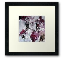 In Destruction There Is Creation Framed Print