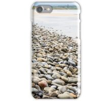 pebbled beach beside the links golf course iPhone Case/Skin