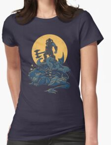 The Dragon Slayer  Womens Fitted T-Shirt