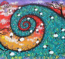 Bo Peep Daydreams by Juli Cady Ryan
