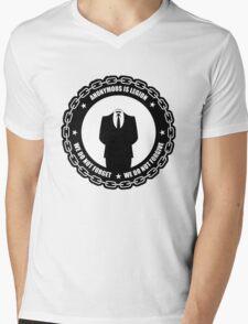 We do not forgive we do not forget Mens V-Neck T-Shirt