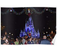 Christmas Castle Poster