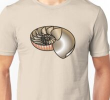 Nautilus shell cross section Unisex T-Shirt