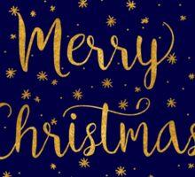 Starry Night - Merry Christmas! Sticker