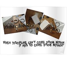 Discipline from within Poster