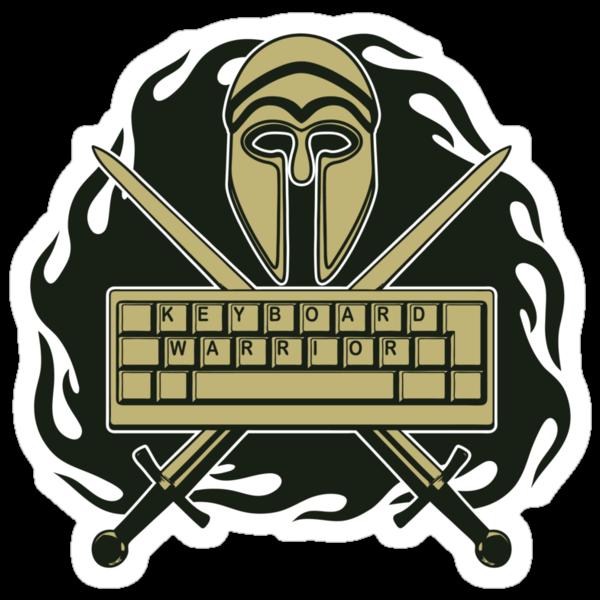 Keyboard Warrior by anfa