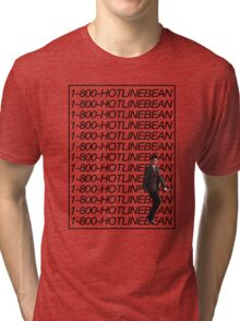 HOTLINE BEAN. Tri-blend T-Shirt
