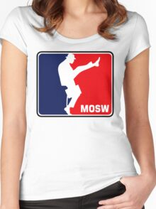The Ministry Of Silly Walks Women's Fitted Scoop T-Shirt