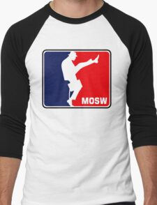 The Ministry Of Silly Walks Men's Baseball ¾ T-Shirt