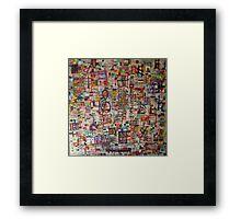 Musical Framed Print