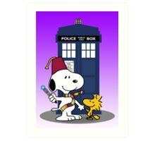 Snoopy Who. Art Print