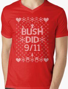 BUSH DID 9/11 Mens V-Neck T-Shirt