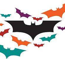 Batman Symbol - Bats by SamuelH7