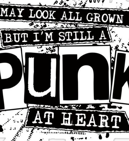 Punk At Heart Sticker