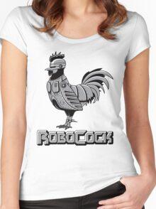 RoboCock Women's Fitted Scoop T-Shirt