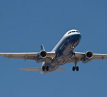 N417UA United A320-232 KLAS by Henry Plumley