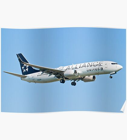 N26210 United Star Alliance Livery Poster