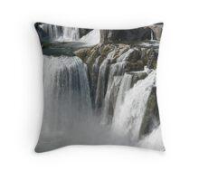 Shoshone Falls in 2009 at Twin Falls Idaho,USA Throw Pillow
