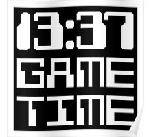 13:37 Game Time Poster