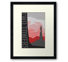 Lord of the Rings - The Two Towers Framed Print