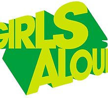Girls Aloud - What Will The Neighbours Say? Logo by FizzBang
