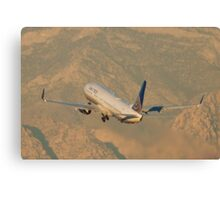 N75428 United Continental Airlines Boeing 737-924ER Canvas Print