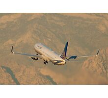N75428 United Continental Airlines Boeing 737-924ER Photographic Print