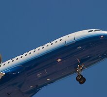 Nose Shot N417UA United Airlines by Henry Plumley