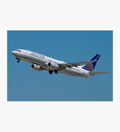 United N33294 Boeing 737-824 on Take Off Photographic Print