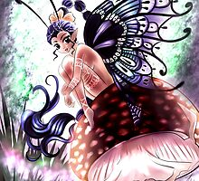 Shroom Fairy by lordcamelot