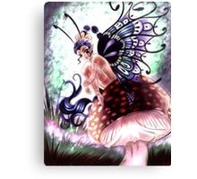 Shroom Fairy Canvas Print