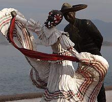 Dancers I - Bailadores by Bernhard Matejka