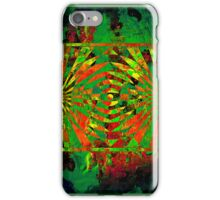 Jungle abstract 3 iPhone Case/Skin