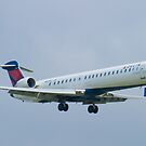 N161PQ Delta Connection CRJ-900ER Approach by Henry Plumley