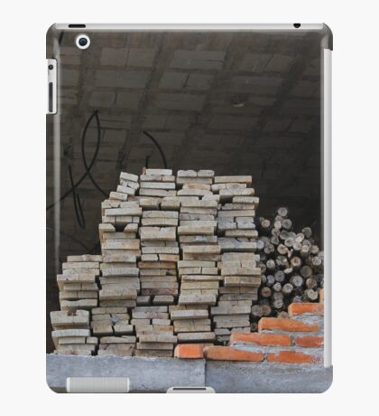 Building Construction Site iPad Case/Skin