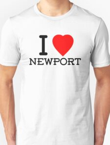 I Love Newport T-Shirt