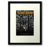 The Devil's Whispers Framed Print