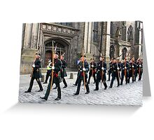 The Royal Company of Archers Greeting Card