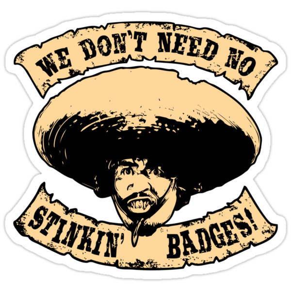 Stinkin' Badges by anfa