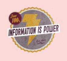 Information Is Power Kids Clothes