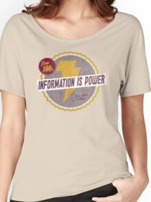 Information Is Power Women's Relaxed Fit T-Shirt