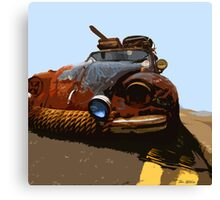 VW RAT Beetle Canvas Print