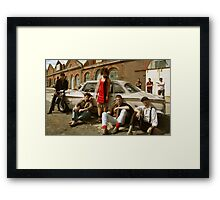 Big Guns and Handbags Framed Print
